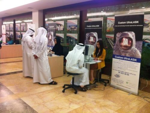 Sharif Eye Centers (Dubai) at the Road and transportation Authority open day